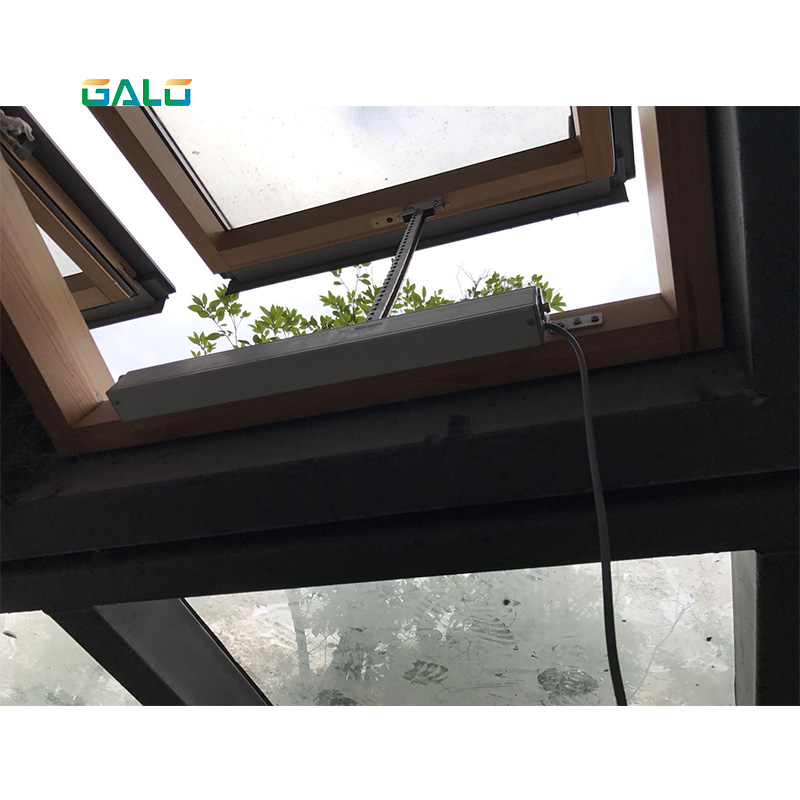 Automatic Window Opener Use With 220v Voltage,Remote Controlled Greenhouse Automatic Chain Window Actuator