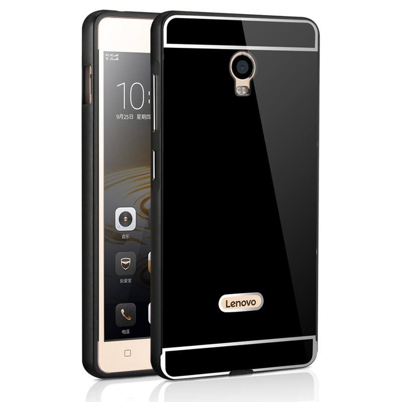 online store 5fdb6 ede3c US $4.29 8% OFF|For Lenovo VIBE P1 Case Luxury Mirror Cover Metal Aluminum  Bumper Frame Case For Lenovo VIBE P1 P1c72 Gold Plated PC Back Cover -in ...