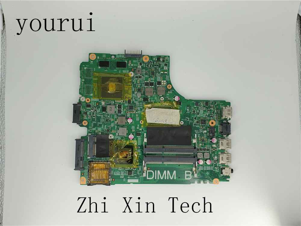 yourui For <font><b>Dell</b></font> Inspiron <font><b>3421</b></font> 5421 Laptop Motherboard CN-0NP4H0 0NP4H0 NP4H0 12204-1 PWB 5J8Y4 With SR0N8 <font><b>i5</b></font>-3317u CPU Tested image