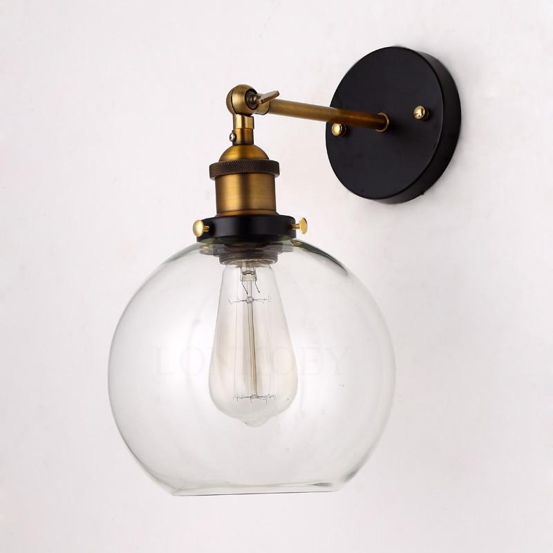 Precio al por mayor Loft Vintage Industrial Edison Lámparas de pared - Iluminación interior - foto 2