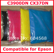 High quality compatible for Epson C3900DN/CX37DN/3900/CX37 color toner powder,4kg/lot,free shipping!