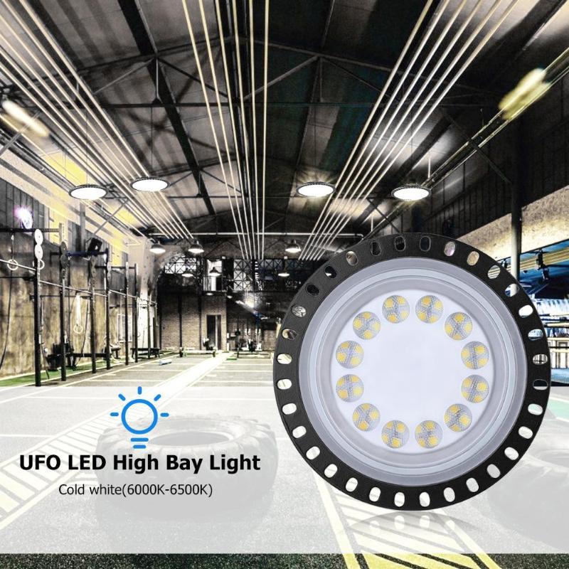 LED High Bay Light 50W 100W 200W 300W 500W High Power Reflector Floodlight For Factory/Warehouse/Works Machine Lamp Drop Ship