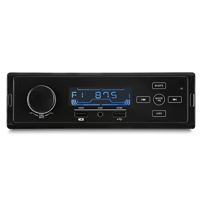 K504 Car MP3 Player USB Bluetooth FM Radio Tuner Oto Teypleri Car Audio Car Stereo Support Charging AUX Input MP3 Subwoofer