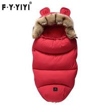 Конверт для новорожденных YOYA Plus VOVO YUYU Детские коляски спальный мешок на весну и зиму теплые спальные мешки халат младенческой коляски конверты новорожденных Footmuff