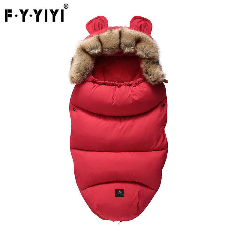 Yoya plus VOVO YUYU Baby Stroller Sleeping Bag Spring Winter Warm Sleepsacks Robe Infant Wheelchair Envelopes Newborns Footmuff