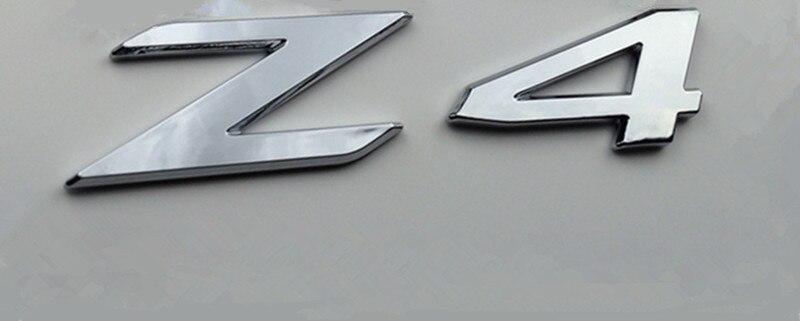 Trunk Lid Rear Emblem Badge Chrome Letters Z4 For E85//E86 /& E89 Z4