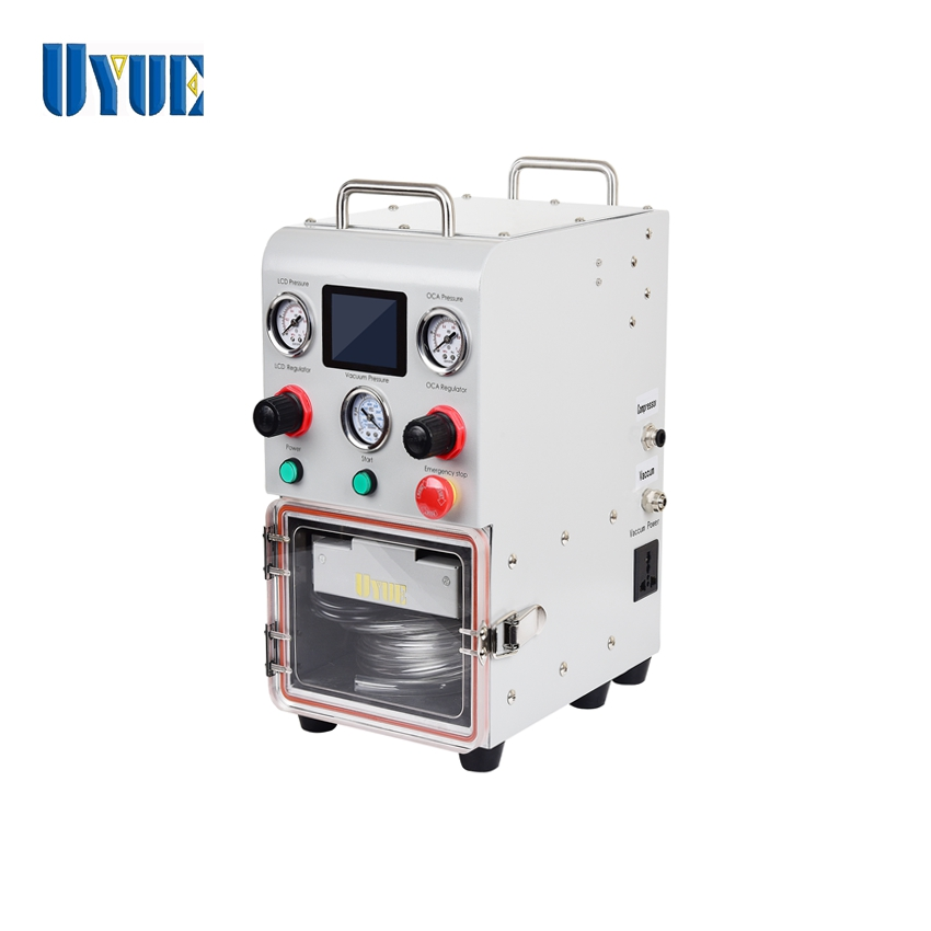 2019 Newest UYUE Mini X1 OCA Laminating Machine for Straight And Edge LCD Refurbish with Base A Mould machine