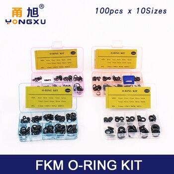 Thickness 1.5/1.9/2.4/3.1/1.8/2.65mm Nitrile Rubber O Ring Seal NBR Sealing O-rings Washer o-ring set Assortment Kit Set Box