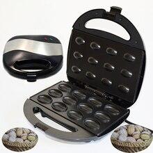 Электрическая машина для приготовления тортов из ореха 750 Вт, автоматическая мини-гайка, вафельница, хлебопечка, сэндвич-железо, тостер, кастрюля для завтрака, духовка, штепсельная вилка европейского стандарта