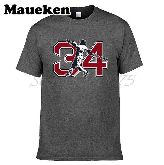 Men Big Papi 34 David Ortiz Boston T-shirt Clothes T Shirt Men s Tshirt For Red  Sox Fans Gift O-Neck Tee W18070503 76cd9f56c