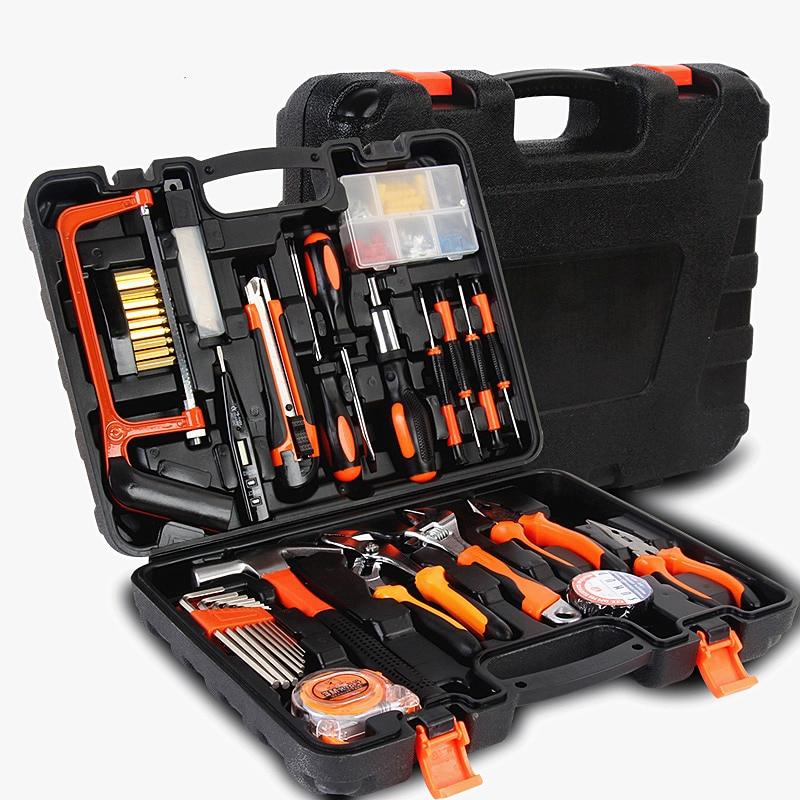 famiglia 100pcs strumenti combinati toolbox hardware multifunzione - Set di attrezzi - Fotografia 5