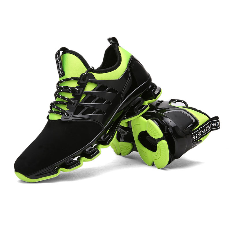 af914cab6af48 ... Super Cool breathable running shoes men sneakers bounce summer outdoor  sport shoes Professional Training shoes plus ...