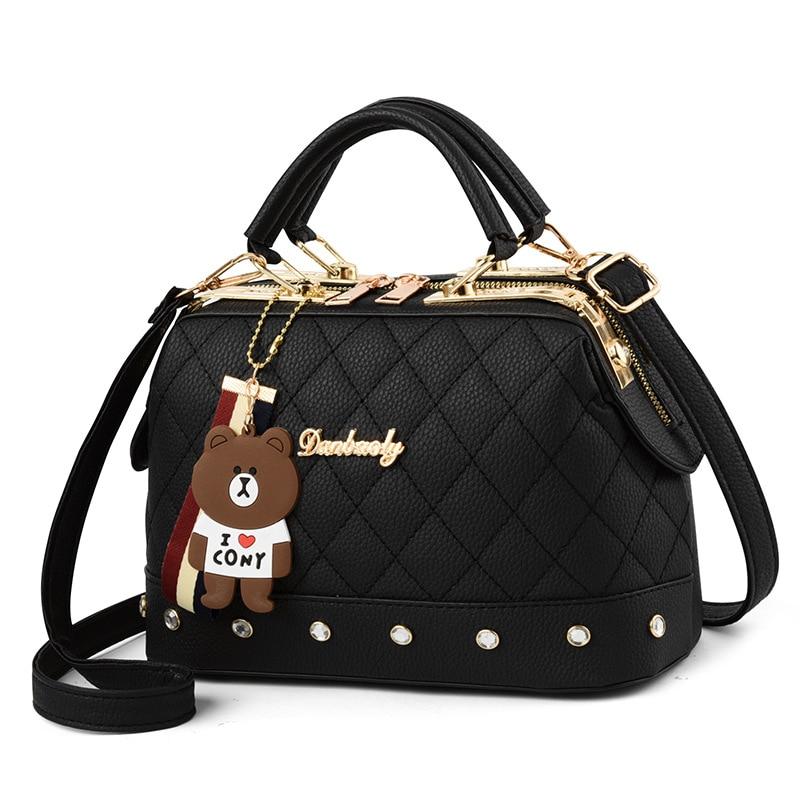 2019 Autumn and Winter Women's Bag Trend New Single Shoulder Diagonal Small Bag Bolsa Feminina Fashion Handbag Small Square Bag(China)