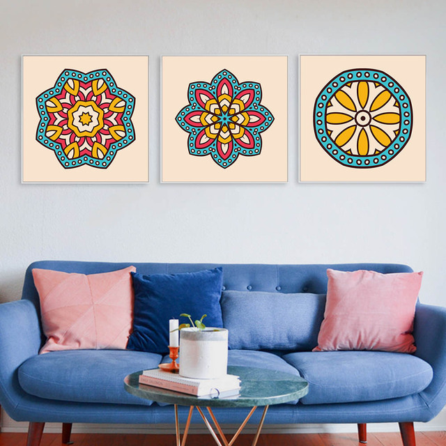 Modern Islamic Calligraphy Posters Nordic Kids Room Wall Art Picture ...