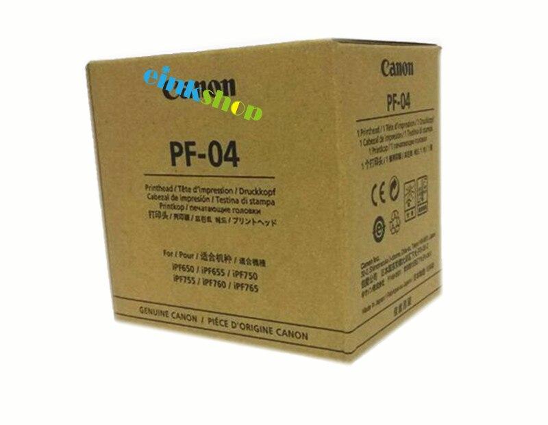 PF-04 PF04  Print Head For Canon IPF650 IPF655 IPF680 IPF681 IPF685 IPF686 IPF750 IPF755 IPF760 IPF765 IPF780 IPF785 Printhead new and hot print head reading machine for canon pf04 for canon 650 655 750 755 printhead for canon pf 04