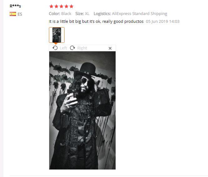 HTB11lC5eBWD3KVjSZFsq6AqkpXa1 Spring Retro Gothic Steampunk Jacket Men Vintage Floral Outerwear Coat Casual Windbreaker Button Mens Overcoat Plus Size Jacket