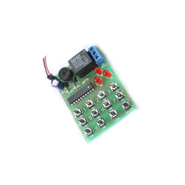 5pcs/lot electronic coded lock kit HQS1436 Simple electronic ...