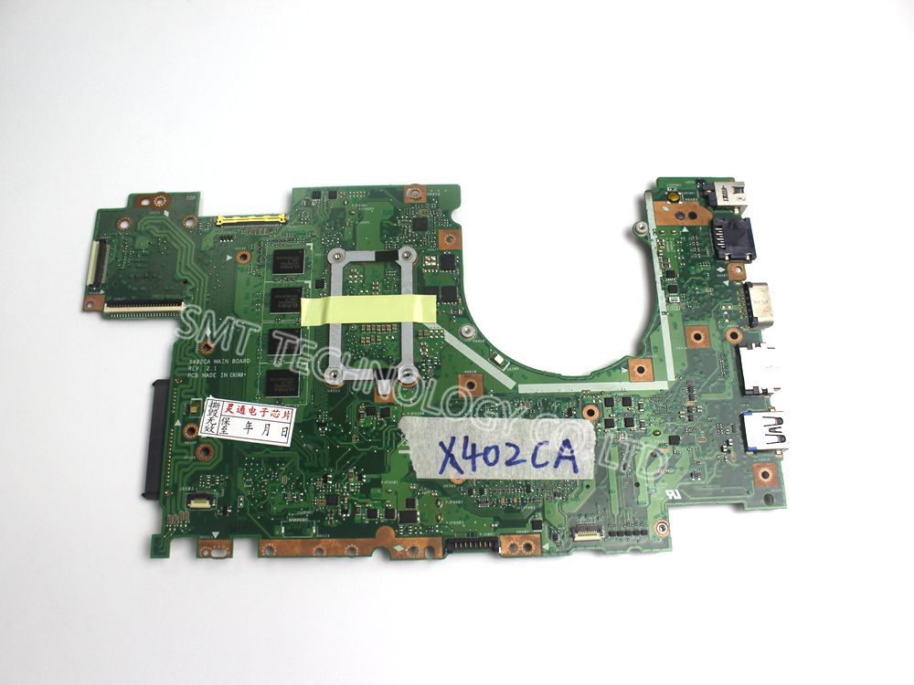 Original For ASUS X402CA Laptop Motherboard 4G with I3CPU Mainboard 2.1 Version 100% Tested Free Shipping
