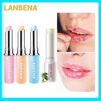 LANBENA caméléon baume à lèvres Rose acide hyaluronique avocat Essence incolore baume à lèvres vitamine E extrait naturel soin des lèvres Anti-sec