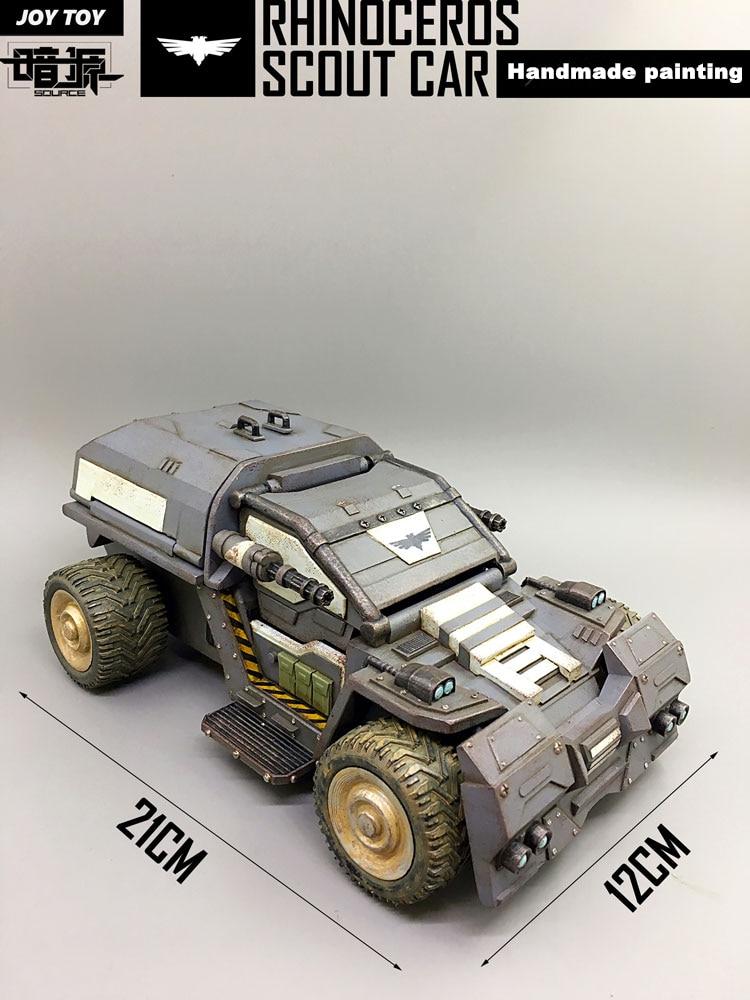 JOY TOY Rhinoceros Scout Military Model Car The 3rd Generation Toy 1//25 Figure