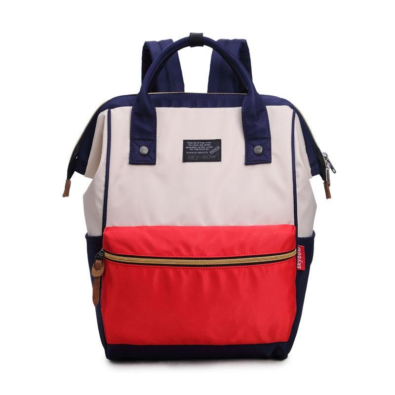 LACATTURA fashion backpack women school backpack for teenage girls large capacity female canvas backpack unisex mochila