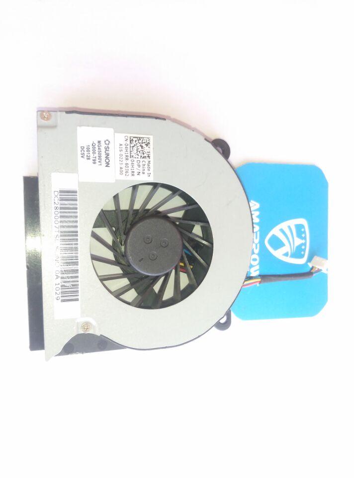 Оригинальный вентилятор для процессора ноутбука Dell Latitude E6410 E6510 fan 04H1RR DC280007TSL