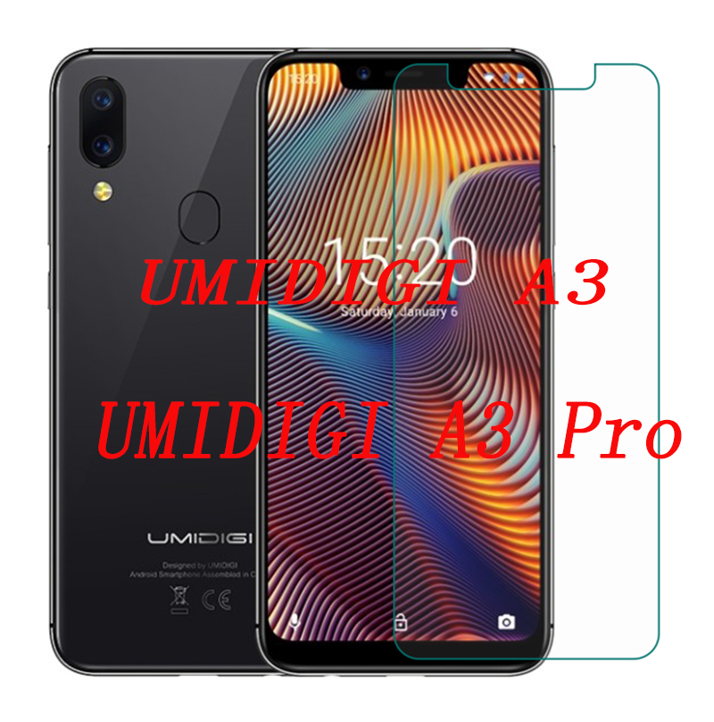 2PCS 9H Front Phone Films Screen Protector For UMIDIGI A3 / A3 Pro A3PRO Tempered Glass Mobile Phone Film