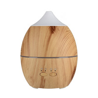 300ML Ultrasonic Humidifier Essential Oil Diffuser Air Humidifier Aroma Lamp Aromatherapy Electric Mist Maker For Home