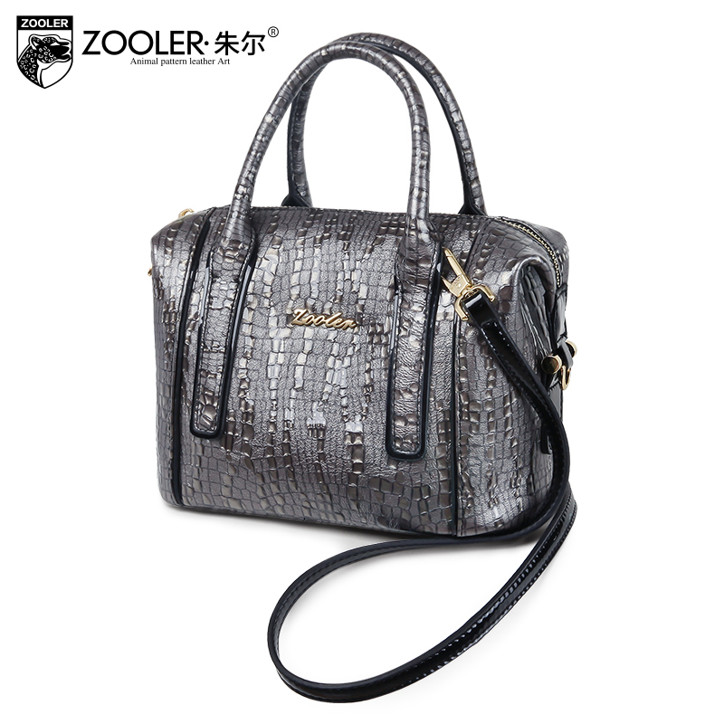 Very limited woman leather handbag ZOOLER 2018 genuine leather bag women bag famous brand high quality &bolsa feminina # C-155 zooler anti theft women bags handbag famous brand 2017 high quality women cowhide shoulder messenger bag sweet tote bag bolsa