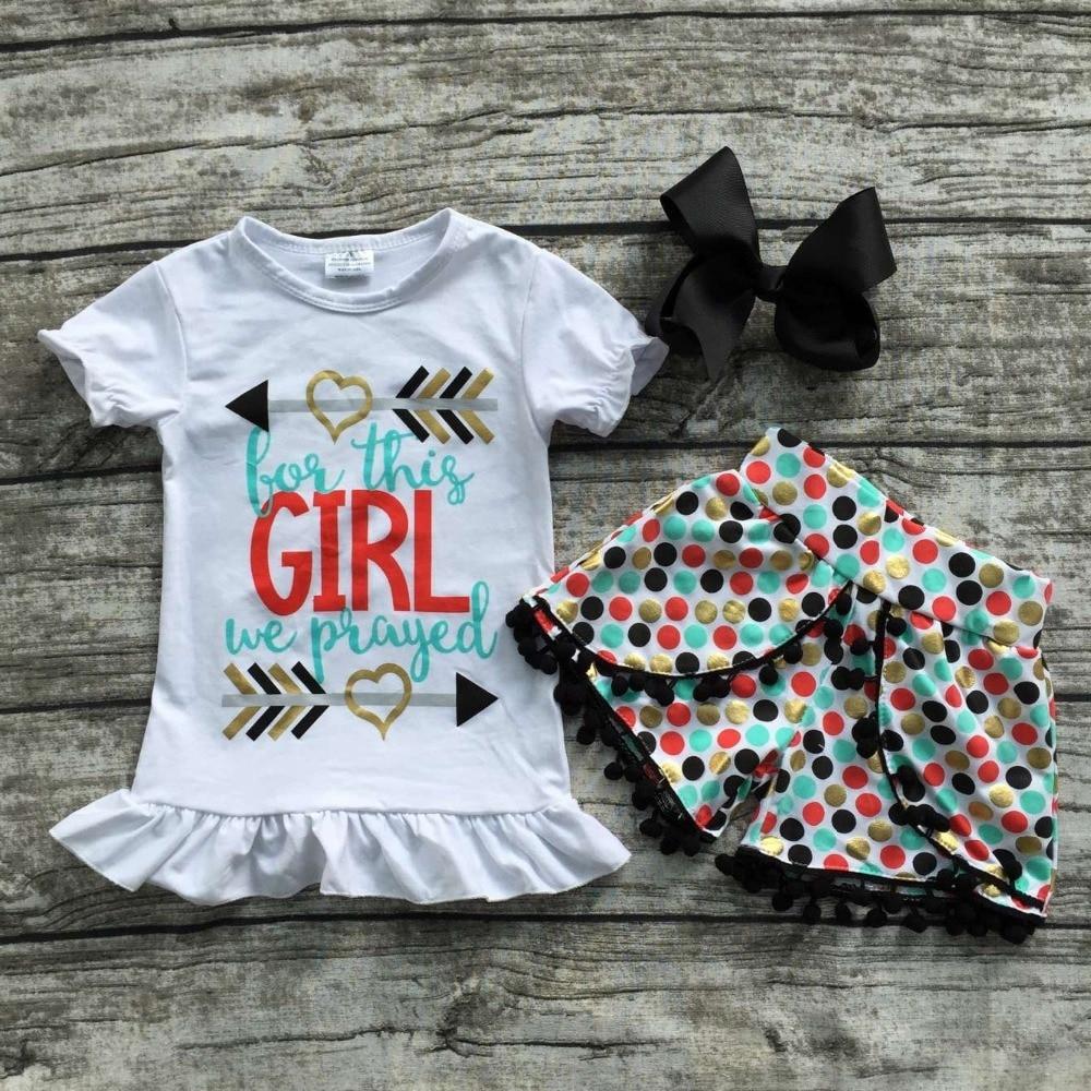 Ropa de verano para niñas bebés Ropa de niñas con encanto-3086