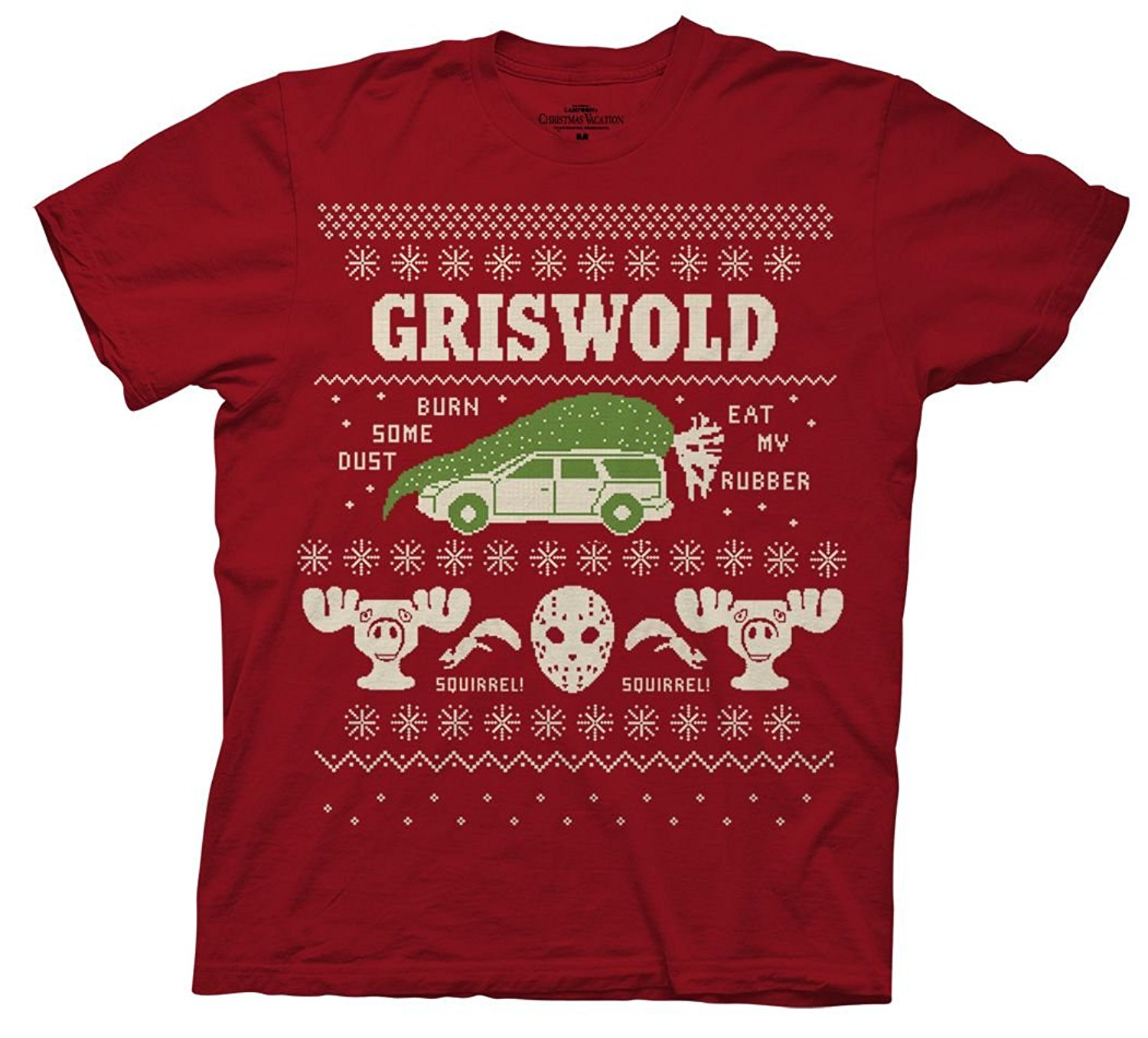 Gildan National Lampoons Christmas Vacation Griswold Burn Dust Adult T-shirt