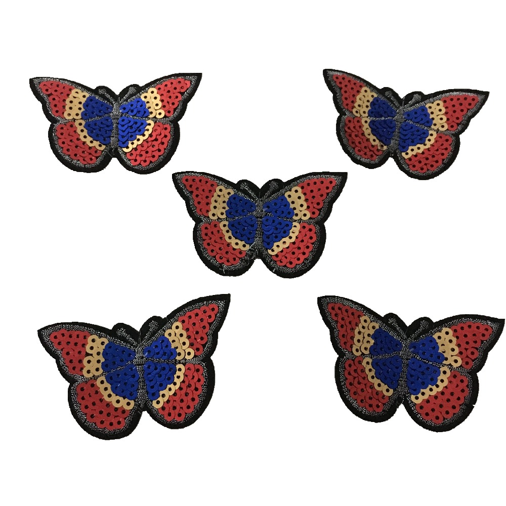 Sequins Butterfly Patches для IKID Одяг Залізо на - Мистецтво, ремесла та шиття