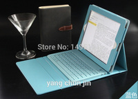 Europe USA Latest High Quality Leather Case Wireless Bluetooth Keyboard For IPad Air1 2nd Stand Bag