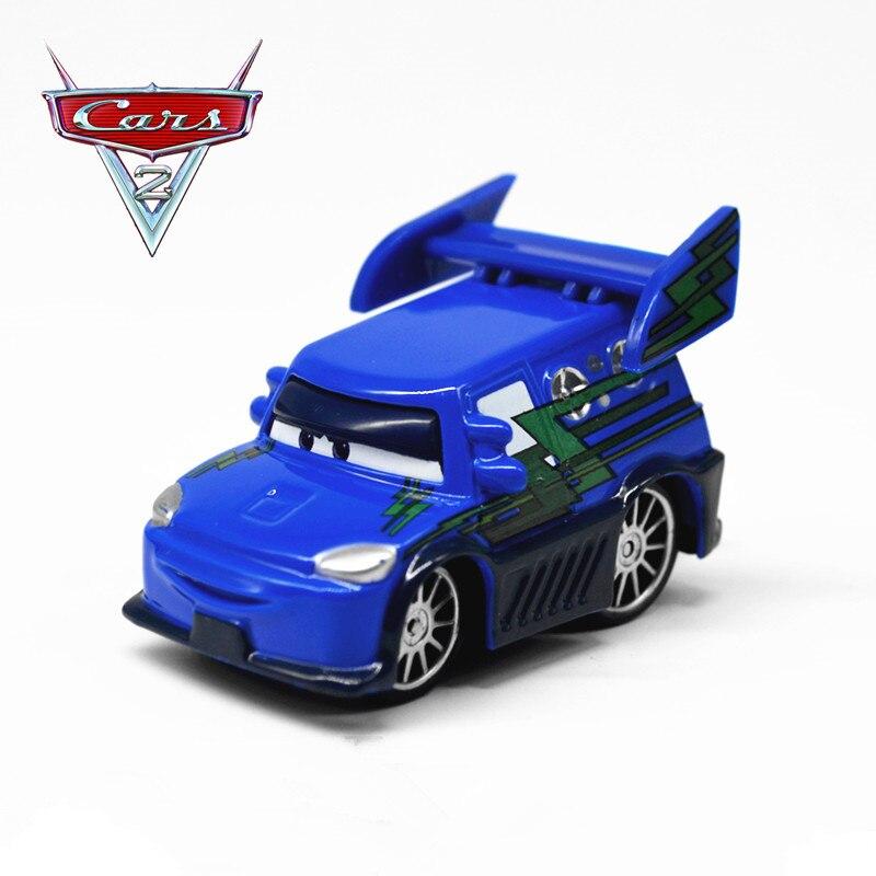 Disney Cartoon Movie Pixar Cars Hot Sale Lightning Mcqueen Dj With Flames Diecast -4812