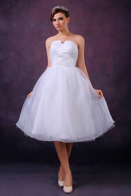 Aliexpress.com: Comprar Vestido de Gala sin tirantes Cortos Vestidos ...
