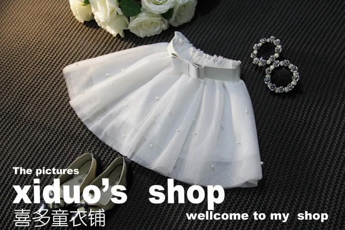 Sweet Girl Bow Tutu Skirt Babay Girl Princess Bow Gown Skirt (8)