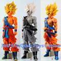 Dragon Ball Z Super Estrelas Mestre Pedaço O Son Goku Super Big 36 cm PVC Action Figure Collectible Modelo Toy 3 Tipos WU919