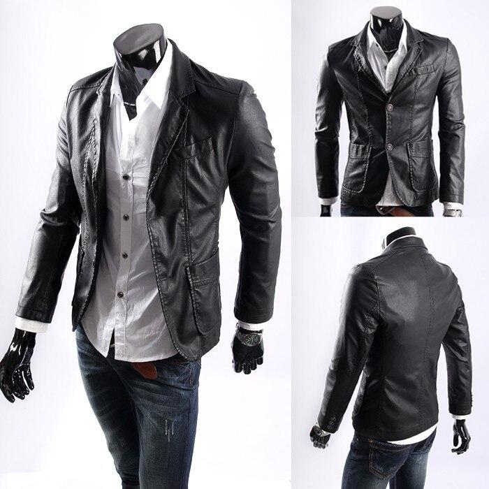 Leather Blazer Jacket ykw8Q1