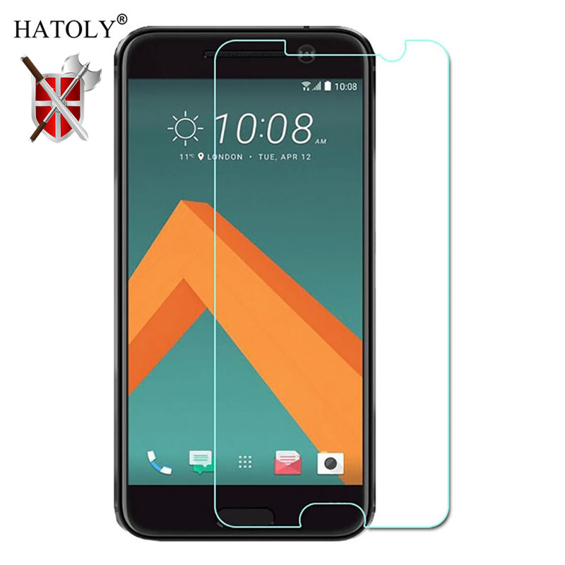 2Pcs Glass For HTC 10 Tempered Glass Screen Protector For HTC 10 One M10 Ultra thin Full Glue Phone Film For HTC 10 Phone Glass in Phone Screen Protectors from Cellphones Telecommunications