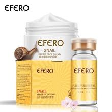 efero Argireline Liquid Snail Serum + Gold Snail Cream niisutav valgendav kreem Anti vananemisvastane näohooldus kortsudevastase nahahoolduse vastu