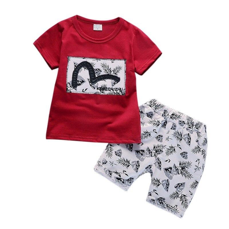 Jongenskleding Heren Zomer Baby Jongenskleding Casual Kinderen - Babykleding - Foto 3