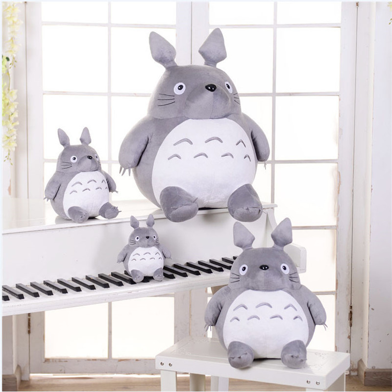 Plush Toy Totoro Cute Soft Stuffed Anime Toys Doll Large Size Pillow Totoro Best Gifts Toys For Children Animation Dolls Gift 9