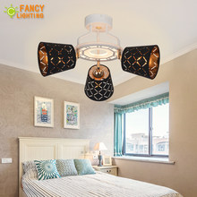 Modern chandelier ceiling With Hexagon Acrylic Light Panel Warm/Nature/Cool White led ceiling light for bedroom/living room/home(China)