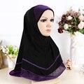 2016 новый 14 цвета твердые обычная хиджаб шарф обертывания платки Полиэстер макси шали мягкие длинные исламские мусульманские платки хиджабы