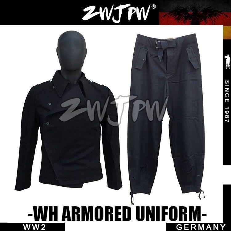 GERMAN BLACK WOOL WH ARMORED FORCE UNIFORM SET DE/505108 wool felt cowboy hat stetson black 50cm