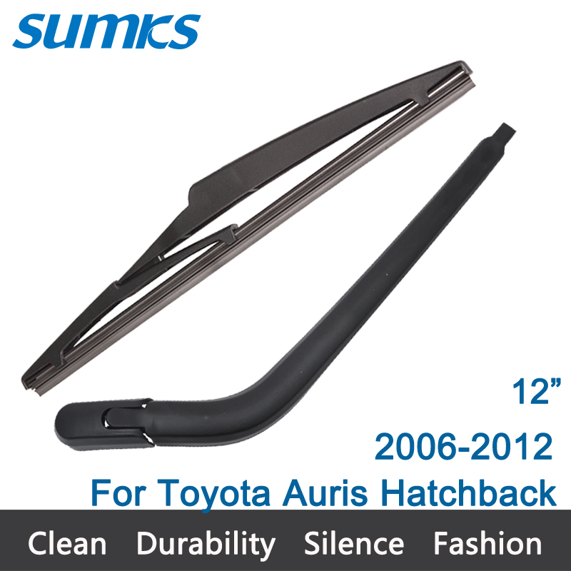 New Rear Window Windshield Wiper Arm and Blade For Toyota Auris Hatchback (2006-2012) 12