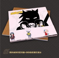 Naruto Coloring Book Secret Garden Style For Relieve Stress Kill Time Graffiti Painting Drawing Book