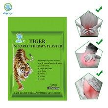 KONGDY Tiger parche para aliviar el dolor de cuello, parche transdérmico para el dolor de cuello, 10 unidades/bolsa, almohadilla Herbal para aliviar el dolor, bolsa con cremallera, masajeador muscular