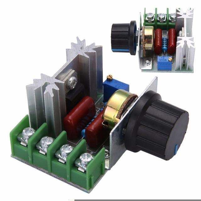 50 220v 2000w ac motor dimmers scr voltage regulator controller