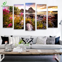 Scenery Modular wall paintings art modular on the posters picture pictures for living room poster